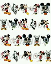 Mickey Mouse Nail Art water decals Zombie nail Decals