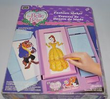 BEAUTY and the BEAST FASHION MAKER (Parts & Pieces)  toy Rose Art