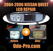 NISSAN QUEST Instrument Cluster Speedometer LCD Screen Display Pixel REPAIR