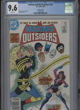 BATMAN AND THE OUTSIDERS #20 NM 9.6 CGC CANADIAN EDITION HIGHEST 1 OF 1 APARO