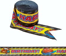 Disney Cars 2 Movie Birthday Crepe Streamer 1ct Party Supplies Decorations