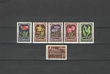 Q2562 - UNGHERIA - 1951 - SERIE COMPLETA FIORI - VEDI FOTO