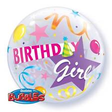 """22"""" bulle ballon """"birthday girl party hat"""" parti décoration-extensible"""