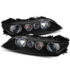 For 2006 2007 2008 Mazda 6 Black Projector Headlights Driver Amp Passenger Sides