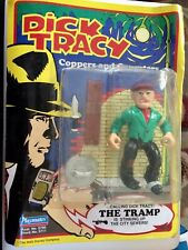 Playmates 1990 Dick Tracy The Tramp action figure Sealed Unpunched card
