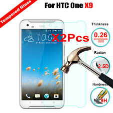 2Pcs 9H 0.26mm Ultra Slim Premium Tempered Glass Screen Protector For HTC One X9
