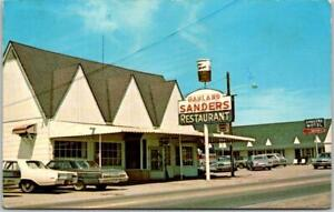 "Vintage Corbin, Kentucky Postcard ""SANDER'S MOTEL & RESTAURANT"" Original KFC"
