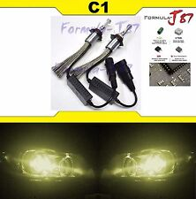 LED Kit C1 60W 9005 HB3 3000K Yellow Two Bulbs Light DRL Daytime Replacement JDM