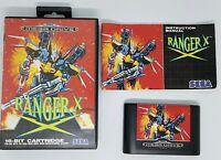 RANGER X RARE SEGA MEGADRIVE SHOOTER COMPLETE 1993 UK PAL RETRO