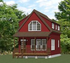 18x30 House -- PDF Floor Plan -- 999 sq ft -- Model 7C