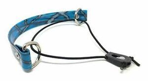 "Sparky Pet Co 1"" Blue Camo Biothane E Collar Easy Fit Surefit Replacement Strap"