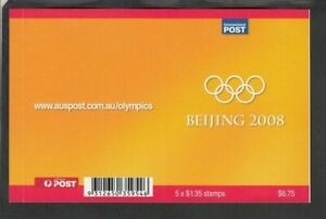 2008 OLYMPICS $6.75 BOOKLET, Mint Never Hinged