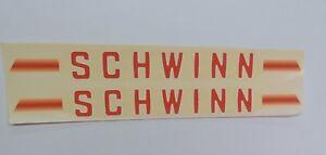 Schwinn Sticker Decal Vintage for Le Tour World Traveler Bike Water Transfer
