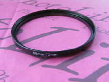69mm to 72mm Stepping Step Up Filter Ring Adapter 69mm-72mm