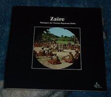 ZAIRE - MUSIQUES DE L'ANCIEN ROYAUME KUBA 1988 LP FRANCE, OCORA OCR 61 + INSERT