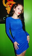 Sexy blue dress Size S NWT Forever 21 bodycon fitted dress