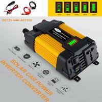 Boat Car 6000W Converter Power Inverter DC 12V to AC 110V Invertor USB Charger