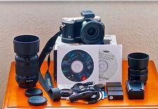 Samsung NX NX300 20.3 MP Digital Camera (black)  with 3 lenses + Extra's.