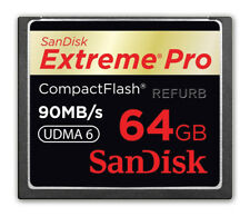 SanDisk ExtremePro 64GB CF memory card SDCFXP-064G Extreme Pro 64 GB 90MB/s