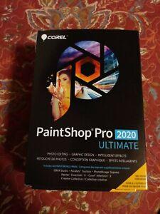 Corel Paintshop Pro 2020 Ultimate sealed box CD & download