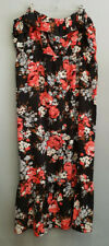 BNWT Ladies Size 22 Woman Brand Floral Pretty Long Sleeveless Summer Dress