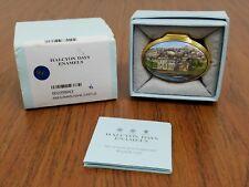 Halcyon Days Box - Amhuinnsuidhe Castle Enamel Trinket Rare