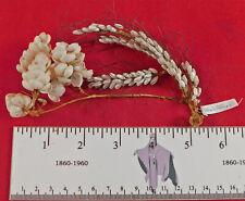 Victorian Antique Sailors Valentine Seashell Shell Works Art Floral Bouquet Trim