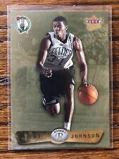 Joe Johnson 2001-02 Fleer Ultra Rookie Card Gold Medallion #'d 100/100 Celtics