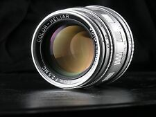 Voigtlander 75mm f2.5 Heliar telephoto lens, fits Leica M/Sony/Olympus