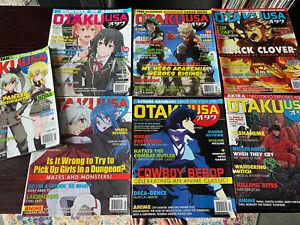 OTAKU USA ANIME MAGAZINE LOT of Seven Issues