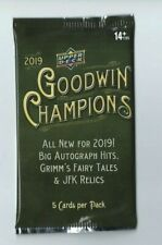 2019 UPPER DECK GOODWIN CHAMPIONS 1 Pack Hobby 5 Cards per Pack