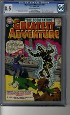 My Greatest Adventure # 80 - CGC 8.5 Cream/OW Pages First Doom Patrol - TV Show