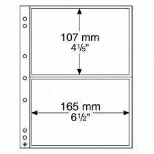 LEUCHTTURM Münz-Hüllen Numis 2C mit Zwischenblättern. je 5 Stk. im Set 17