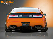 Rear Diffuser / Undertray for Nissan 300ZX Z32 Fairlady, Performance, Aero v8