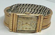 Vintage Bulova 7AP  FIFTH AVE NEW YORK 10 KT Gold Filled 21J Men's Wrist Watch
