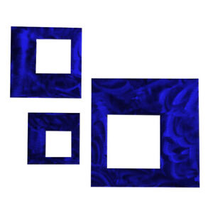 Artisan Contemporary Squares Wall Decor