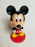 2002 Walt Disney World Resort Mickey Mouse Bobblehead Kellogs Plastic 8""