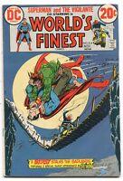World's Finest 207 Fine+ Superman Batman Dc comics *CBX1U