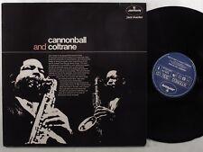 CANNONBALL ADDERLEY/JOHN COLTRANE Cannonball/Coltrane MERCURY LP ++ netherlands