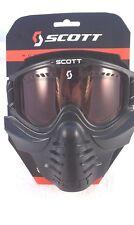 Scott 83X Safari / Venturi Goggles Facemask Chopper Bobber Cafe Racer