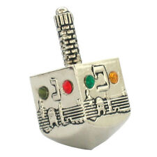 SMALL Nickel Chanuka DREIDEL....... kids or adults Draidel judaica gift present