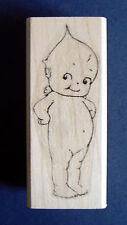 Kewpie doll rubber stamp WM P27