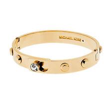 Michael Kors MKJ4550 710 Women's Cityscape Gold Studded Hinge Bracelet Jewelry