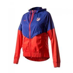 Nike Atletico Madrid Women's Windrunner Jacket 867436 611 Brand New Size L