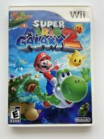Super Mario Galaxy 2 (Nintendo Wii) -Tested & Working- FAST SHIPPING