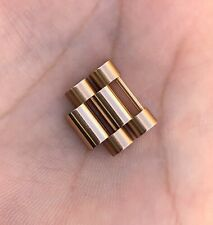 Rolex Day-Date II President 218235 18k Solid Rose Gold 17mm 1 Link Factory Mint.