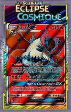 Pyrax GX Full Art - SL12:Éclipse Cosmique- 213/236-Carte Pokemon Neuve Française