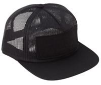 CREATURE Skateboards Reverse Patch Black Mesh Trucker Snapback Hat