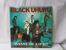 """Black Uhuru ~ What is Life? ~ Party Next Door/Solidarity ~ 12"""" Record ~ 1983"""