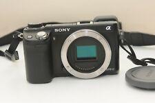 Used Sony Alpha NEX-6 16.1MP Digital Camera  Black (Body Only) 20k Shutter count